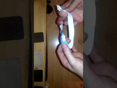 How To Remove Paper Wristband