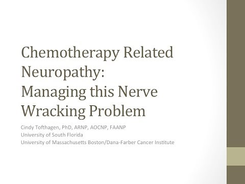 How to Manage Chemotherapy Related Neuropathy | Dana-Farber Cancer Institute