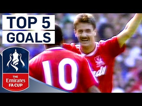 Ian Rush's Top 5 FA Cup Goals | Top 5 | From the Archive