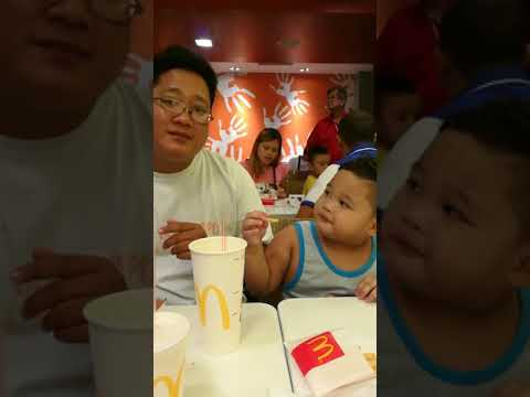 Daddy pause fries bite #akala mo picture