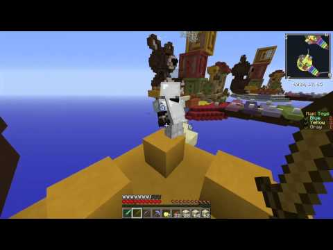 EGG WARS MINECRAFT PVP/ NUEVO MAPA: TOYS SUPER GUAY / CUBECRAFT