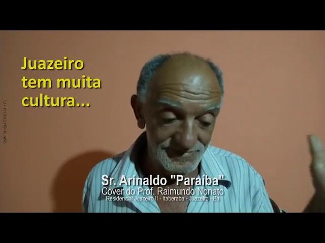 """Eu apoio Renato Brandão - Sr. Arinaldo """"Paraíba"""""""