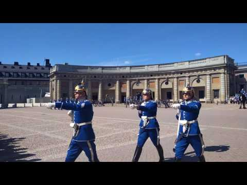 Stockholm Royal Palace - Changing of the Guard