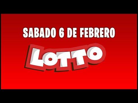 Resultados del Lotto del Sábado 6 de Febrero del 2021