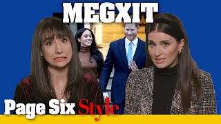 Did Meghan Markle hint at royal family exit with her fashion? | Page Six Celebrity News