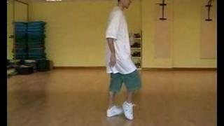 Hip Hop/Street Dance/Breakdance tutorial: Learn how to slide/Glide