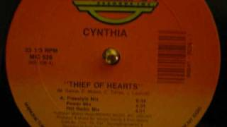 "Cynthia ""Thief Of Hearts"""