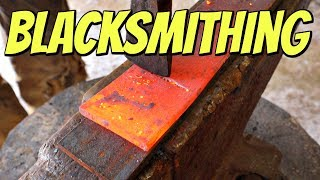 Blacksmithing - How Hard Can It Be?