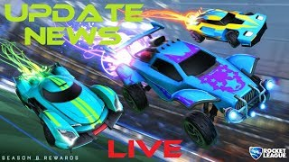 *UPDATE NEWS* | ROCKET LEAGUE | PS4 Gameplay | LIVE Stream | ROAD TO 3K SUBS