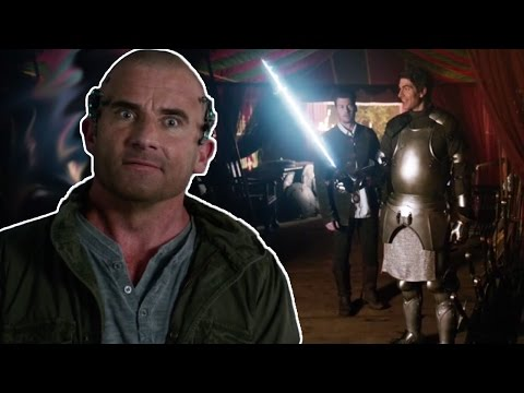 "Legends of Tomorrow Season 2 Episode 12 ""Camelot/3000"" Review and Easter Eggs!"
