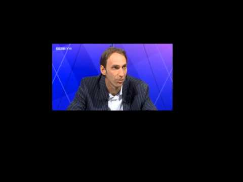 Will Self Preaching anti-war then challenging Michael Gove to a fight