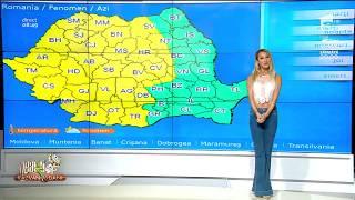 Vremea zilei 14 iunie 2018. Alertă meteo! Meteorologii au anunțat cod galben de ploi