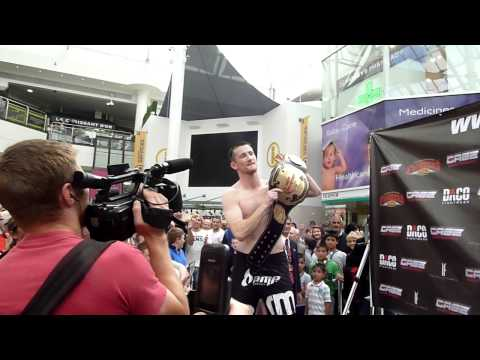 "Owen Roddy vs. Benjamin ""Son of Life"" Davis Weigh-In Cage Contender X"