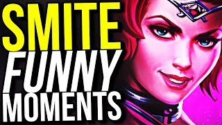 I ALREADY HATE DISCORDIA! - SMITE FUNNY MOMENTS