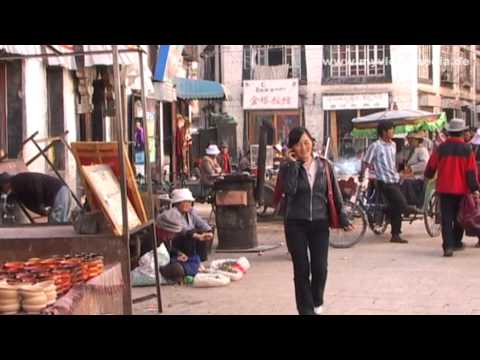 Lhasa, Street Life, Tibet - China Travel Channel