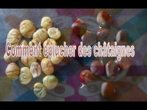 Comment plucher des ch taignes super facilement youtube - Comment eplucher des chataignes ...