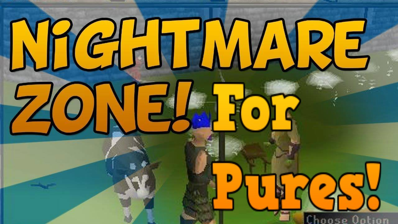 osrs how to get nightmare zone