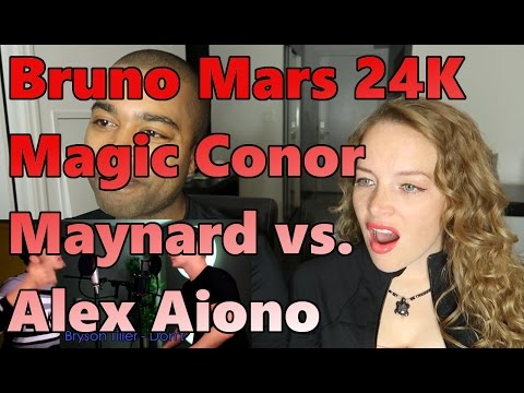 Bruno Mars   24K Magic SING OFF vs  Alex Aiono (Reaction 🔥)