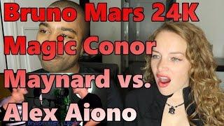 Bruno Mars   24K Magic SING OFF vs  Alex Aiono (Reaction 🔥)