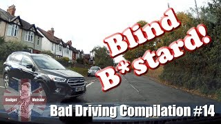 Bad Drivers UK : #14 - Dash Cam Compilation October 2018