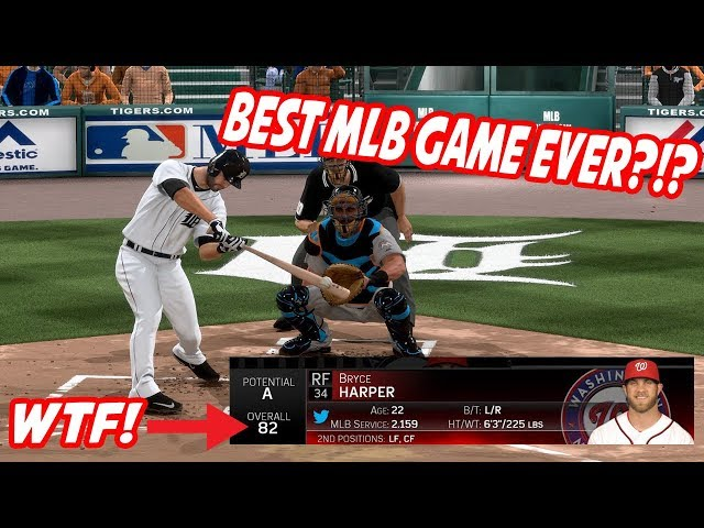Bryce Harper Was an 82 Overall! Best MLB The Show Ever?!? - MLB The Show 15 Gameplay