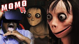 DO NOT PLAY MOMO IN VR | Momo Creepypasta Horror Game