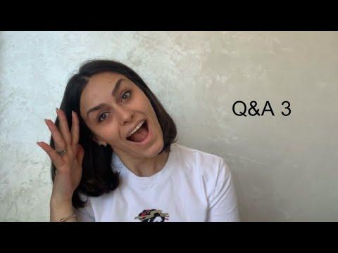 3 Հարց ու պատասխան | Ռուզան Մանթաշյան 3 Q&A | Ruzan Mantashyan