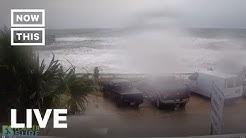 Hurricane Dorian Grazes Florida on Live Beach Cam | NowThis