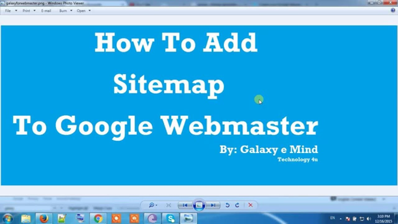 how to add sitemap to google webmaster tool seo training part 3