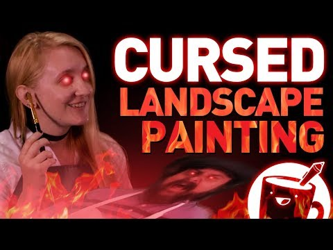 How to Paint: Landscapes (CURSED VIDEO)