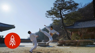 Dancing with Kicks: Mastering the Korean Martial Art of Taekkyeon