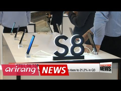 Samsung Electronics tops Q3 world smartphone market