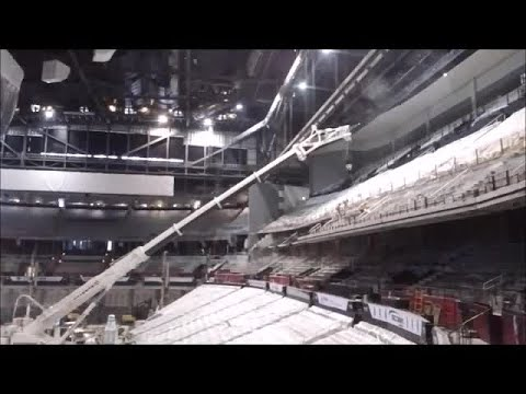 Philips Arena construction