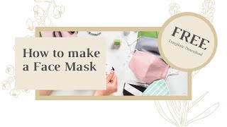 Fabric Face Masks by Aster & Anne