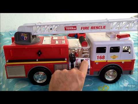 Tonka fire truck doovi for Tonka mighty motorized cement mixer