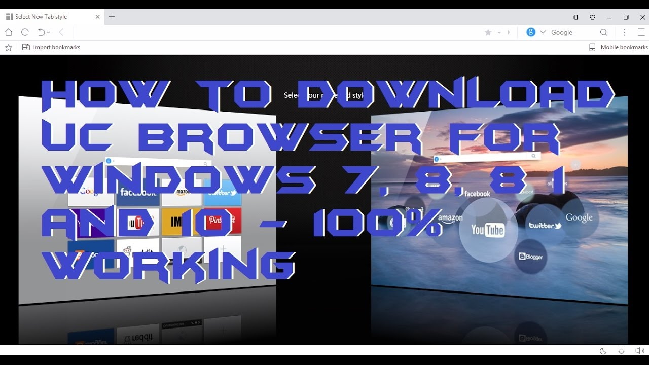 How to Download UC Browser for Windows 7, 8, 8 1 and 10 ... Uc Browser For Windows 7