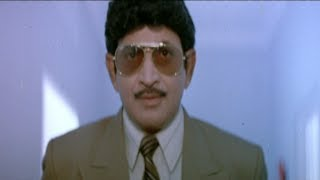 Adimai Penn Tamil Movie Scenes | Ramki getting hurt in the war | Vijayashanthi