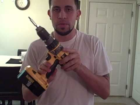 How to change a drill bit on a cordless drill  how-to video instructions