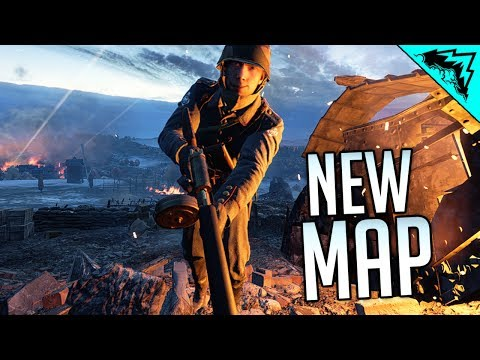 """ANOTHER NEW NIGHT MAP! Battlefield 1 """"Prise de Tahure"""" Multiplayer Gameplay"""