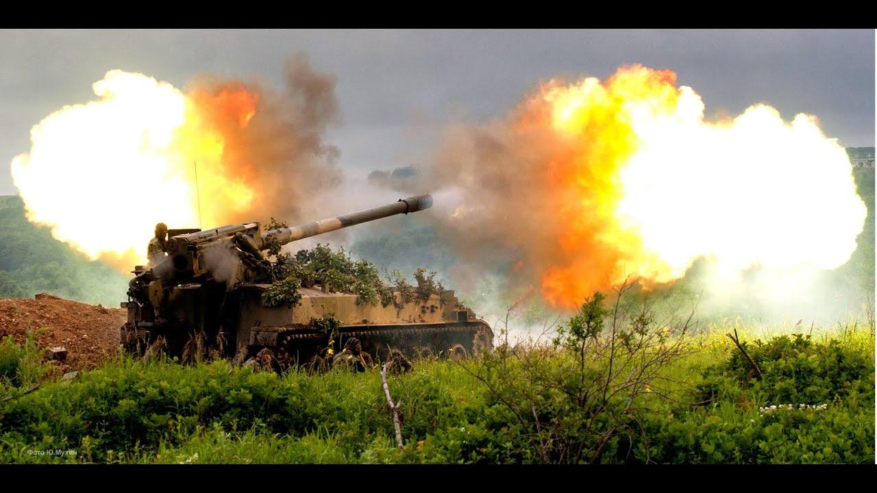 Ворог сім разів застосовував 122-мм артилерійські системи і міномети різних калібрів, поранено чотирьох бійців ООС, - прес-центр - Цензор.НЕТ 5300