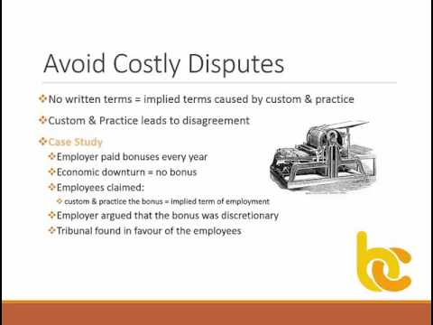 Contracts of Employment Made Easy