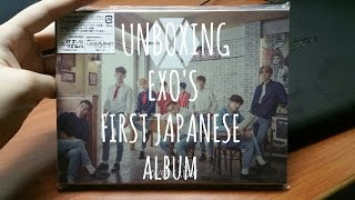 [UNBOXING] EXO's First Japanese Single Album