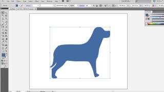 Illustrator Tutorial : Using Photoshop Custom Shapes in Illustrator as Vector Art