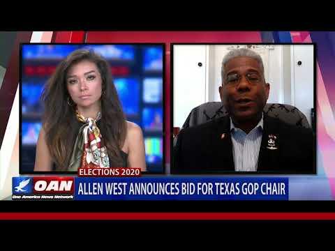 Allen West announces bid for Texas GOP chair