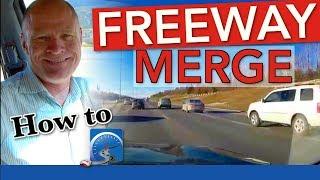 How to Merge oฑto a Freeway, Motorway, or Interstate