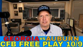College Football Week 6 Picks and Predictions | Georgia vs Auburn Free Play | SEC Betting Preview