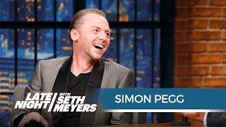 Simon Pegg on Writing Star Trek Beyond