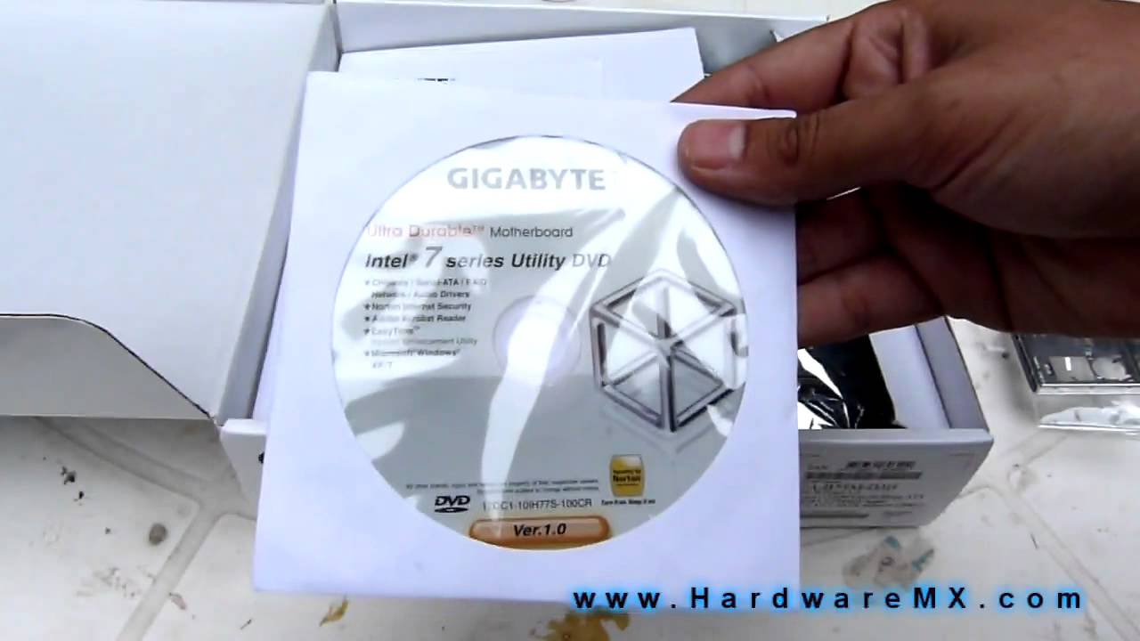 Unboxing Tarjeta Madre    GIGABYTE       B75M      D3H    1155  YouTube