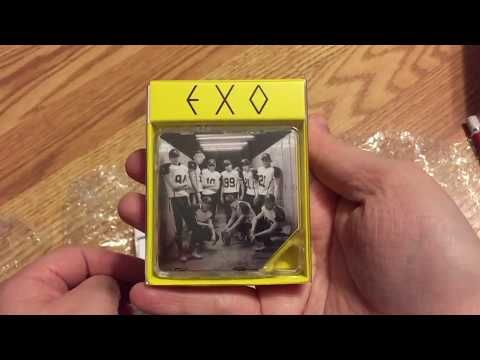 Kpop Unboxing Haul: Ebay and Kpop Factory: EXO!