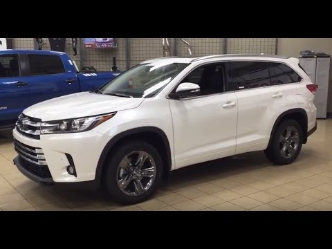 2017 toyota highlander limited review youtube. Black Bedroom Furniture Sets. Home Design Ideas